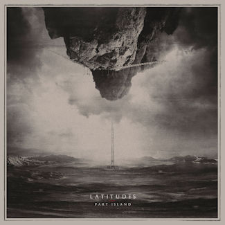 Album cover shows a sea beneath an inverted mountain in the sky.